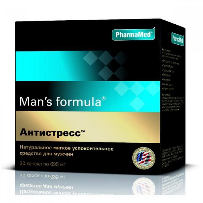Витамины, минералы и БАДы Man's formula Капсулы Антистресс для мужчин 30 шт.