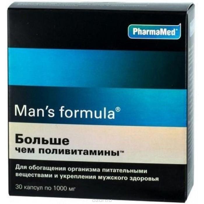 Man's formula Капсулы Больше чем поливитамины для мужчин 30 шт.