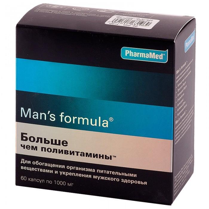 Man\'s formula Капсулы Больше чем поливитамины для мужчин 60 шт.