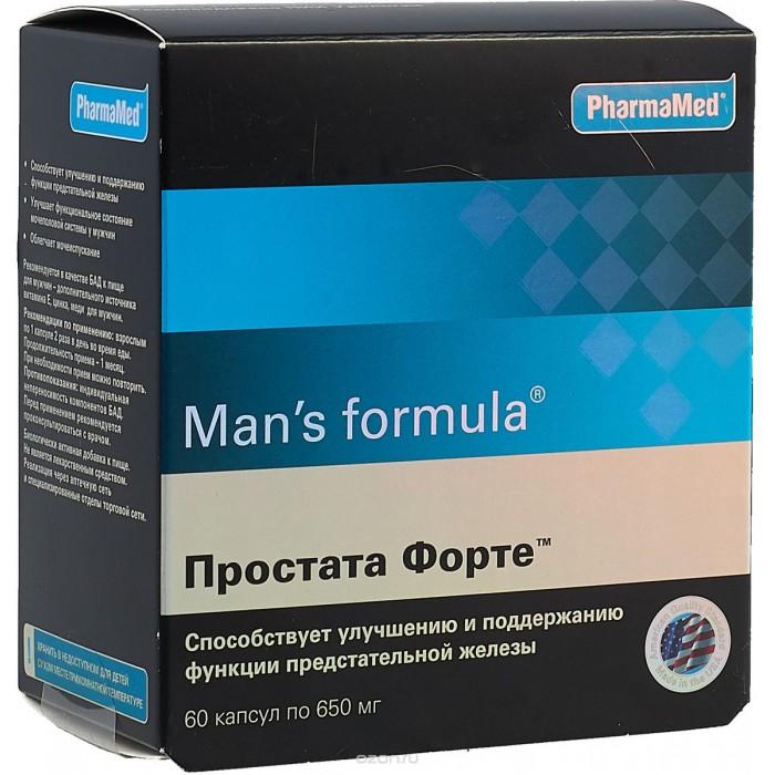 Картинка для Man's formula Капсулы Простата Форте 60 шт.