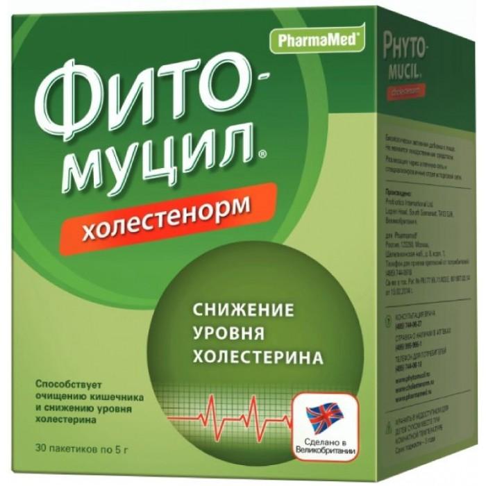 Фитомуцил Порошок Холестенорм пакеты 5 г N30