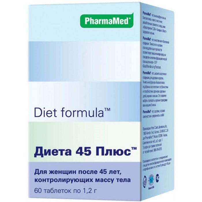 Diet formula Таблетки Диета 45 плюс 60 шт.