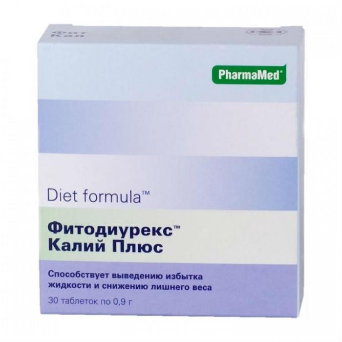 Diet formula Таблетки Фитодиурекс Калий плюс N30