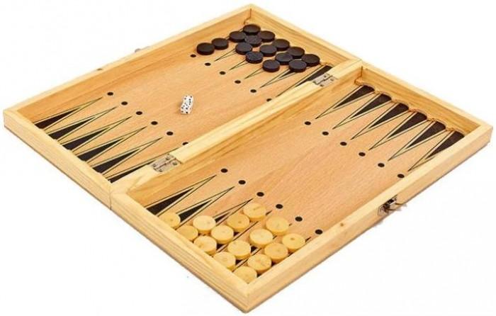 Игротрейд Игра 3 в 1 Шашки, шахматы, нарды
