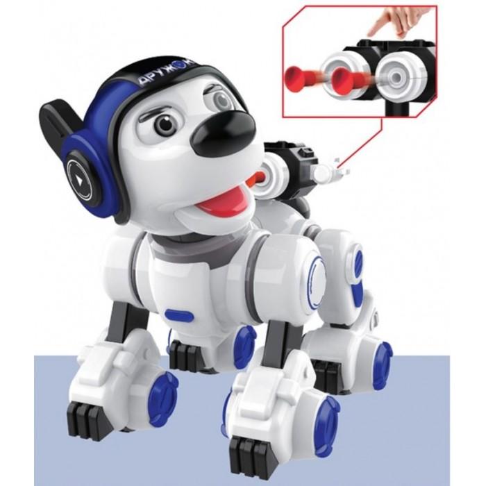 Фото - Радиоуправляемые игрушки 1 Toy Интерактивный радиоуправляемый щенок-робот Дружок радиоуправляемый робот zhorya интерактивный белый кот 2059