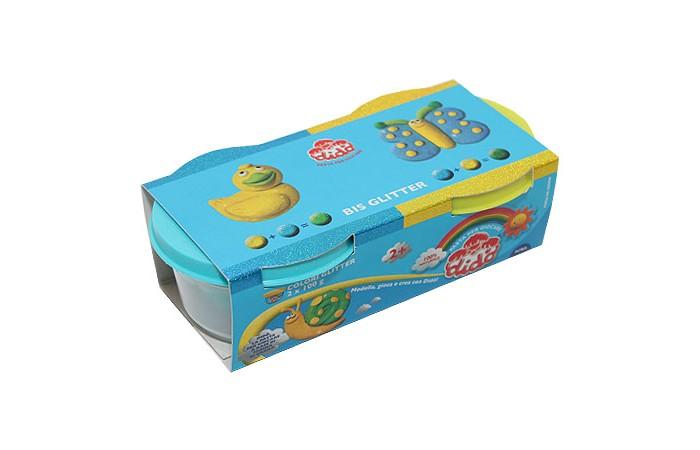 Всё для лепки Dido Паста для лепки 2 х 100 396701 всё для лепки play doh игровой набор город магазинчик домашних питомцев