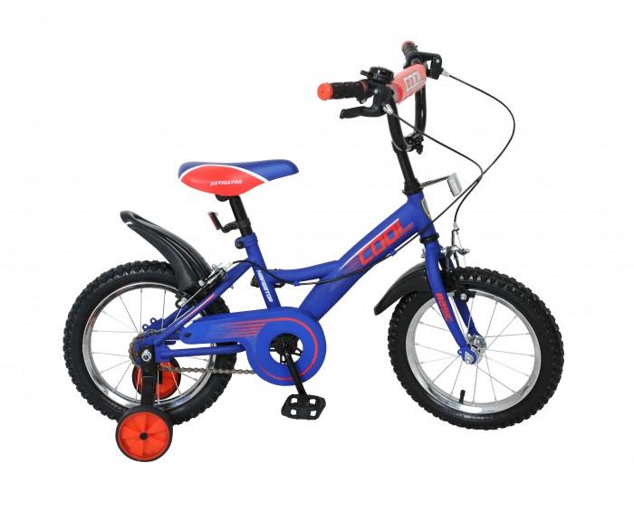 Велосипед двухколесный Navigator Basic Cool 14 KiteBasic Cool 14 KiteВелосипед Navigator Basic Cool 14 Kite - это хорошо собранный и надёжный велосипед для ребёнка. Модель подойдет для ребенка ростом 100-120 см.  Велосипед оснащен звонком и ручными тормозами. Катание на велосипеде благоприятно влияет на здоровье, укрепляет мышцы, развивает зрение, учит ориентироваться в пространстве и принимать решения.   Особенности: Тип: детский Материал рамы: сталь Амортизация: отсутствует Конструкция вилки: жесткая Конструкция рулевой колонки: неинтегрированная, резьбовая Диаметр колес: 14 дюймов Материал обода: алюминиевый сплав Двойной обод: нет Шатун: односоставной Возможность крепления боковых колес: есть Боковые колеса в комплекте: есть Тип переднего тормоза: ручной Тип заднего тормоза: ручной Уровень заднего тормоза: начальный Количество скоростей: 1 Уровень каретки: начальный Конструкция каретки: неинтегрированная Тип посадочной части вала каретки: квадрат Количество звезд в кассете: 1 Количество звезд системы: 1 Конструкция педалей: платформы Конструкция руля: изогнутый Настройка положения руля: регулируемый подъем Материал рамки седла: сталь Комфорт: защита цепи, мягкая накладка на руле<br>