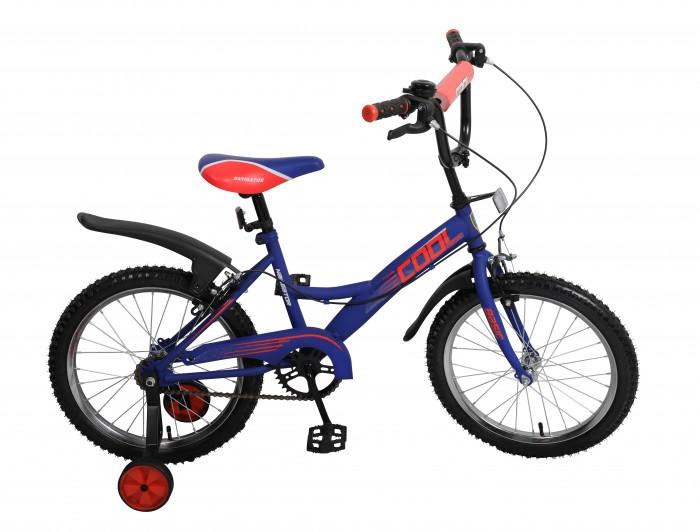 Велосипед двухколесный Navigator Basic Cool 18 KiteBasic Cool 18 KiteВелосипед Navigator Basic Cool 18 Kite - то хорошо собранный и надёжный велосипед дл ребёнка. Модель подойдет дл ребенка ростом 115-135 см.  Велосипед оснащен звонком и ручными тормозами. Катание на велосипеде благопритно влиет на здоровье, укреплет мышцы, развивает зрение, учит ориентироватьс в пространстве и принимать решени.   Особенности: Тип: детский Материал рамы: сталь Амортизаци: отсутствует Конструкци вилки: жестка Конструкци рулевой колонки: неинтегрированна, резьбова Диаметр колес: 18 дймов Материал обода: алминиевый сплав Двойной обод: нет Шатун: односоставной Возможность креплени боковых колес: есть Боковые колеса в комплекте: есть Тип переднего тормоза: ручной Тип заднего тормоза: ручной Уровень заднего тормоза: начальный Количество скоростей: 1 Уровень каретки: начальный Конструкци каретки: неинтегрированна Тип посадочной части вала каретки: квадрат Количество звезд в кассете: 1 Количество звезд системы: 1 Конструкци педалей: платформы Конструкци рул: изогнутый Настройка положени рул: регулируемый подъем Материал рамки седла: сталь Комфорт: защита цепи, мгка накладка на руле<br>