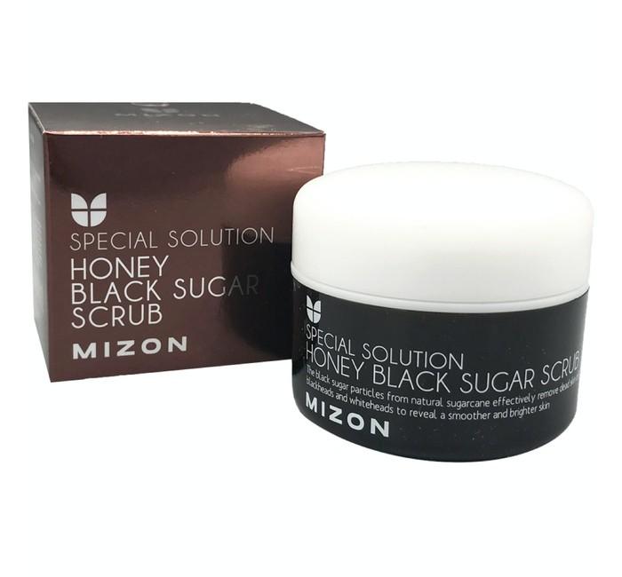 Косметика для мамы Mizon Honey Black Sugar Скраб с черным сахаром 80 мл chi luxury black seed oil curl defining cream gel