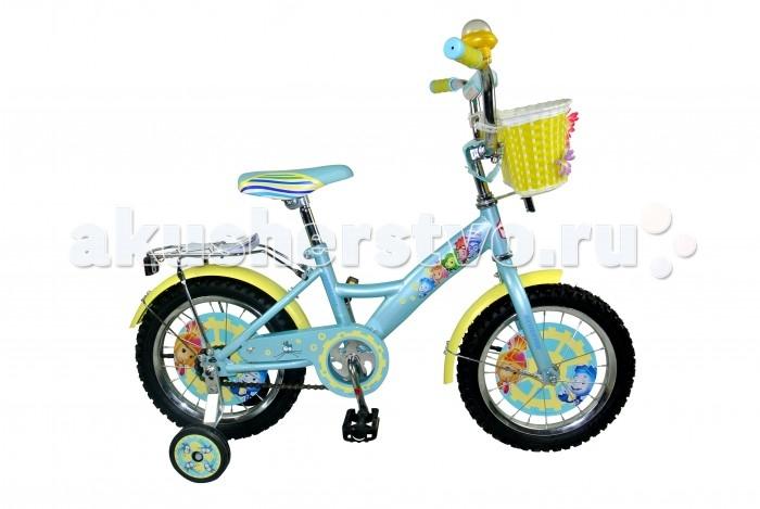 Велосипед двухколесный Navigator Фиксики 16 KiteФиксики 16 KiteВелосипед Navigator Фиксики 16 Kite - это хорошо собранный и надёжный велосипед для ребёнка. Модель подойдет для ребенка ростом 105-125 см. Детский велосипед с ярким дизайном и популярной лицензией Фиксики.  Велосипед оснащен клаксоном, багажником и корзиной для игрушек. Катание на велосипеде благоприятно влияет на здоровье, укрепляет мышцы, развивает зрение, учит ориентироваться в пространстве и принимать решения.   Особенности: Тип: детский Материал рамы: сталь Амортизация: отсутствует Конструкция вилки: жесткая Конструкция рулевой колонки: неинтегрированная, резьбовая Диаметр колес: 16 дюймов Материал обода: алюминиевый сплав Двойной обод: нет Шатун: односоставной Возможность крепления боковых колес: есть Боковые колеса в комплекте: есть Тип переднего тормоза: отсутствует Тип заднего тормоза: ножной Уровень заднего тормоза: начальный Количество скоростей: 1 Уровень каретки: начальный Конструкция каретки: неинтегрированная Тип посадочной части вала каретки: квадрат Количество звезд в кассете: 1 Количество звезд системы: 1 Конструкция педалей: платформы Конструкция руля: изогнутый Настройка положения руля: регулируемый подъем Материал рамки седла: сталь Комфорт: защита цепи, мягкая накладка на руле  Комплектация: багажник,  крылья,  корзина на руле<br>