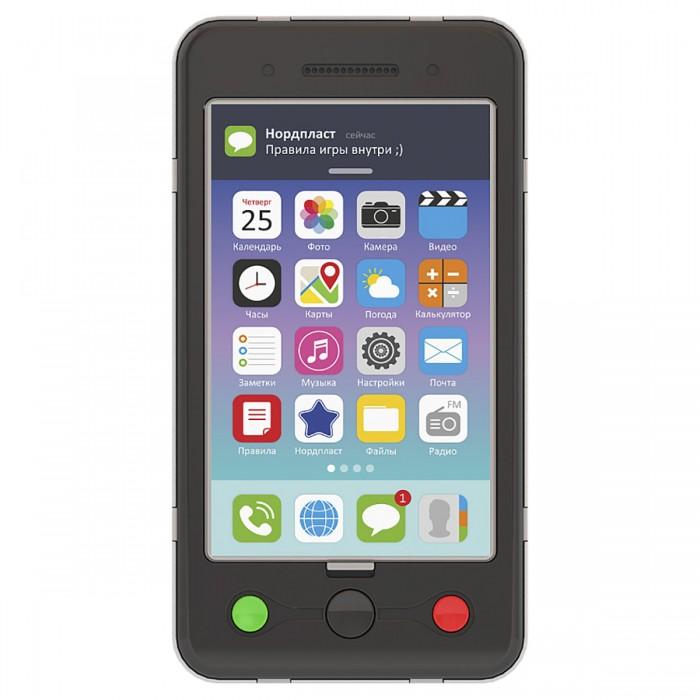 Развивающие игрушки Нордпласт Смартфон 14х7.5х1 см смартфон