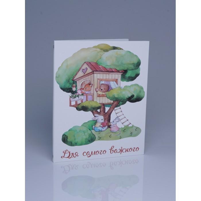 Картинка для Miaworkstudio Папка на 5 комплектов документов Дом на дереве