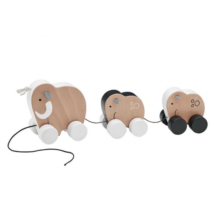 Деревянные игрушки Kid's Concept Neo Семья мамонтов на колесах на веревочке андрей мамонтов практический