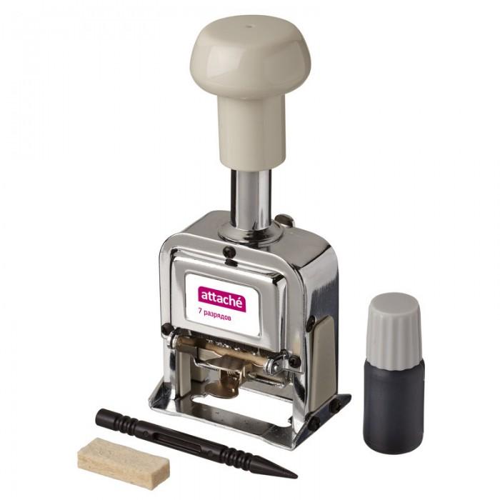 Канцелярия Attache Нумератор автоматический 7-и разрядный 4.8 мм