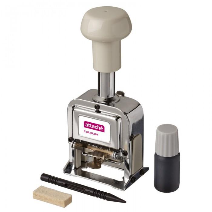Канцелярия Attache Нумератор автоматический 8-и разрядный 4.8 мм
