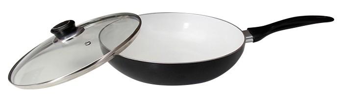 Купить Посуда и инвентарь, Galaxy Сковорода-вок GL 9824 24 см