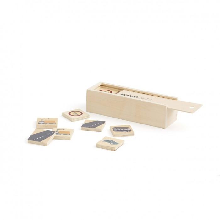 Картинка для Деревянная игрушка Kid's Concept Aiden Набор карточек в коробке для игры на запоминание