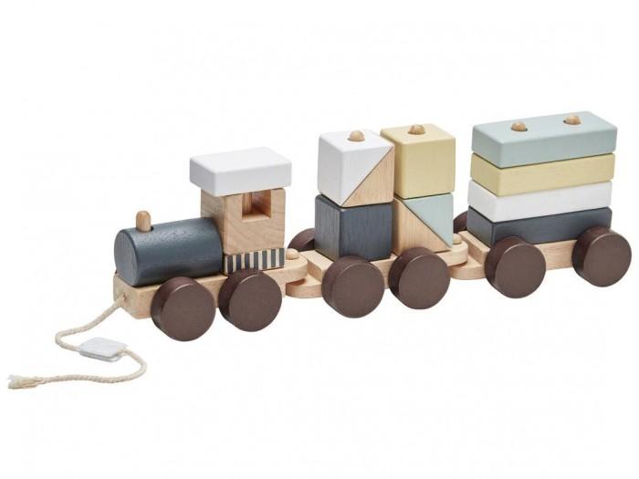 Деревянные игрушки Kid's Concept Поезд с блоками