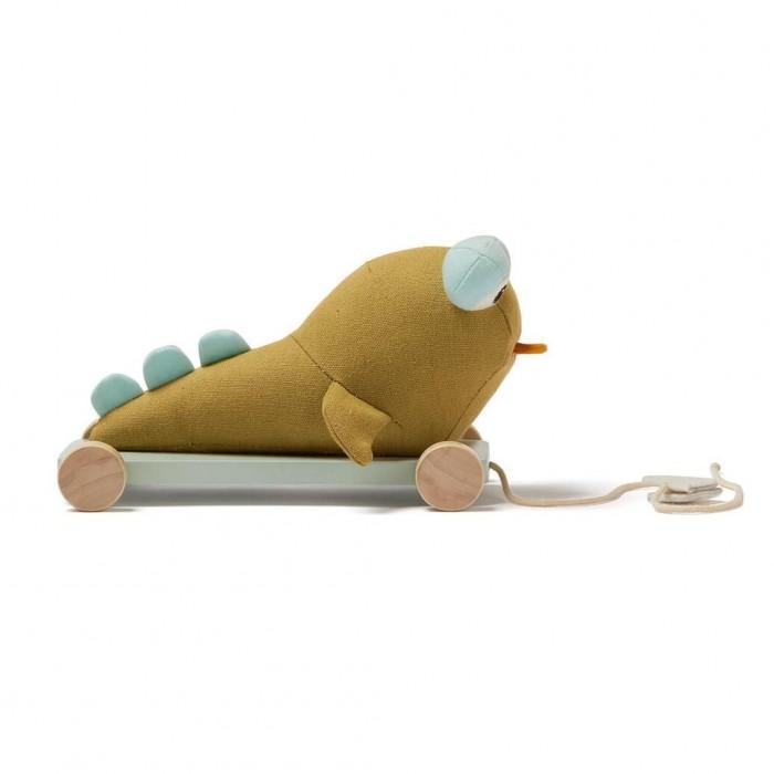 каталки игрушки janod на веревочке ксилофон sweet cocoon Каталки-игрушки Kid's Concept Neo на колесах на веревочке Отто Илистый прыгун