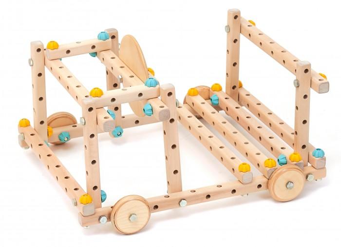 Деревянная игрушка Kidwood Конструктор масштабный Эврика Small 010701