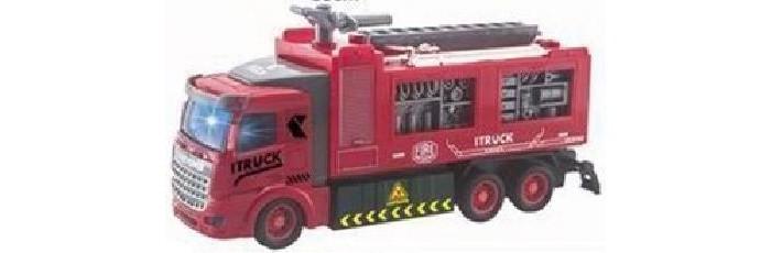Фото - Радиоуправляемые игрушки Игротрейд Машинка р/у Пожарная радиоуправляемые игрушки игротрейд машинка радиоуправляемая пожарная