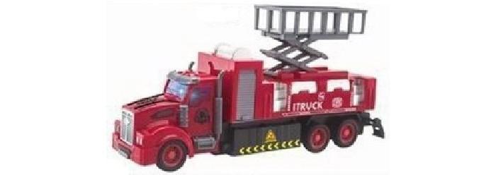 Фото - Радиоуправляемые игрушки Игротрейд Машинка р/у Пожарная ZY955979 радиоуправляемые игрушки игротрейд машинка радиоуправляемая пожарная