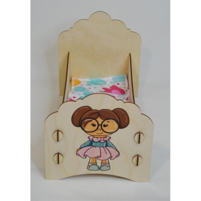 Кроватка для куклы Коняша Облака Мая