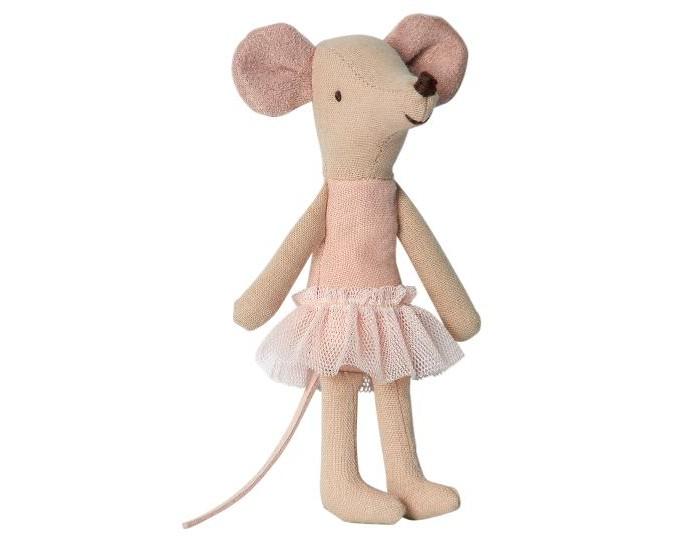 Картинка для Мягкая игрушка Maileg Мышка старшая сестра Балерина 12 см