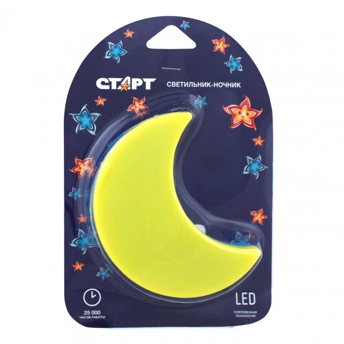 Ночники Старт Светильник-ночник 3LED Луна 220 В недорого