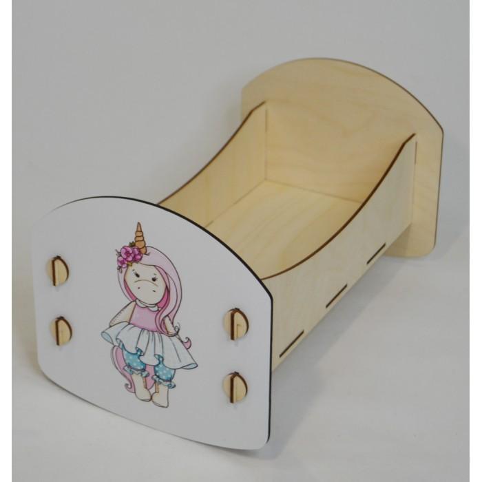 Кроватка для куклы Коняша Облака Ева