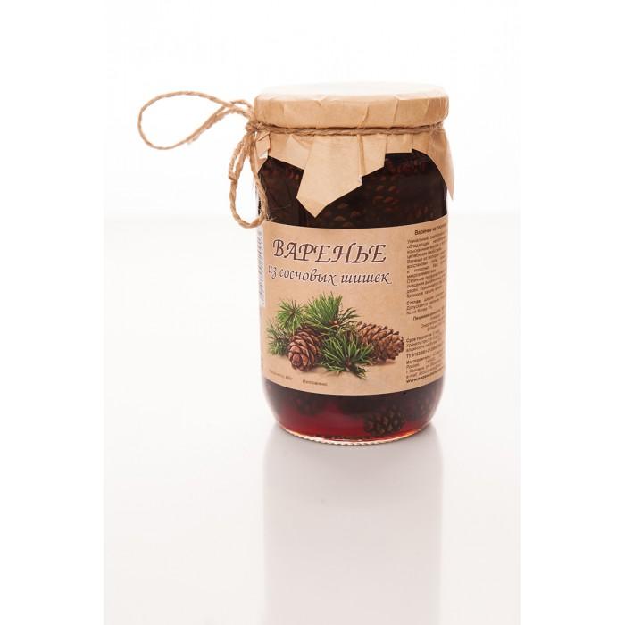 Мед, варенье, сиропы Вареньеизшишек.рф Варенье из сосновых шишек 480 г
