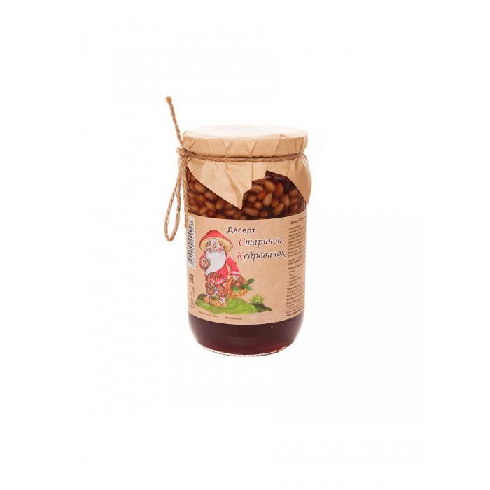 Вареньеизшишек.рф Десерт Старичок Кедровичок Кедровые орехи в сосновом сиропе 430 г
