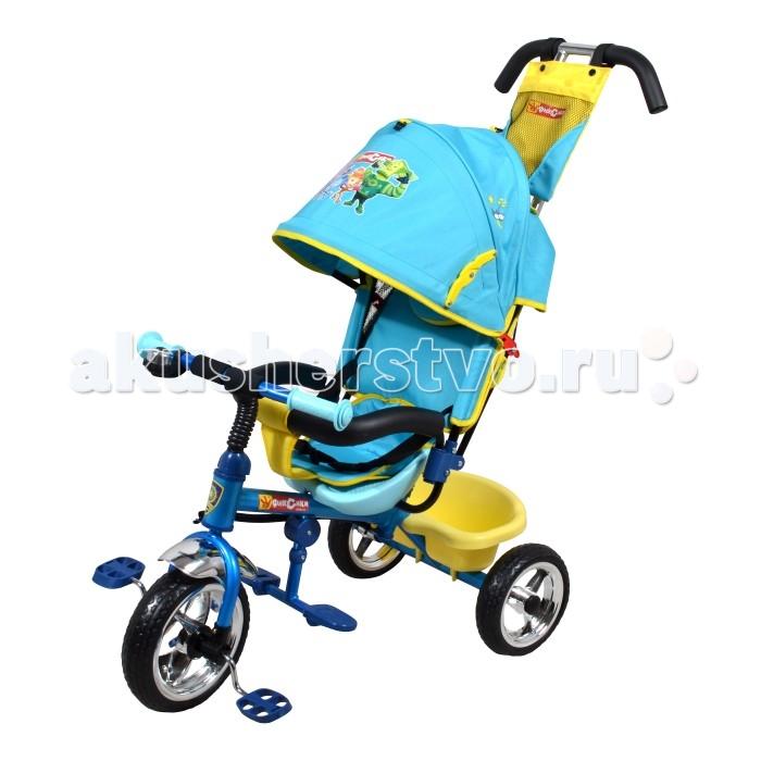 Велосипед трехколесный Navigator Lexus ФиксикиLexus ФиксикиВелосипед трехколесный Navigator Lexus предназначен для того, чтобы ребенок увидел мир с другого ракурса и постепенно переходил с коляски на собственный транспорт. Популярная модель детского трехколесного велосипеда с ярким дизайном. Велосипед снабжен ручкой управления для родителей.  Особенности: Диаметр переднего/заднего колеса: 10/8 Широкие колеса с пластиковыми дисками  Сиденье с регулируемой спинкой и ремнями Конструкция руля прямой Тяга Безопасность и комфорт Ручка для родителей  Управление рулем Подставки для ног  Переднее крыло  Страховочный разъемный обод  Колясочный козырек от дождя Тканевая вставка на сиденье  Рюкзак на ручке  Задняя корзина (фиксированная) Клаксон  Вес: 8 кг<br>