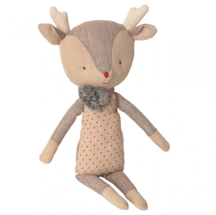 Картинка для Мягкая игрушка Maileg Зимние друзья Олененок девочка 1