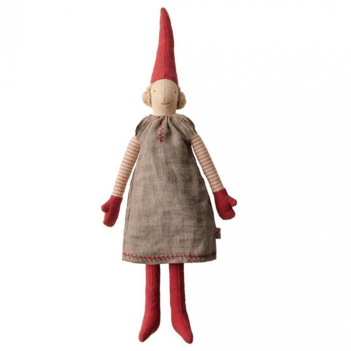 Картинка для Мягкая игрушка Maileg Гном Пикси 1 Мини девочка