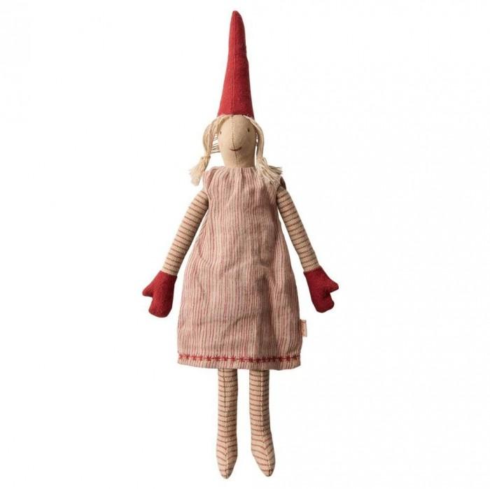 Картинка для Мягкая игрушка Maileg Гном Пикси 2 Мини девочка