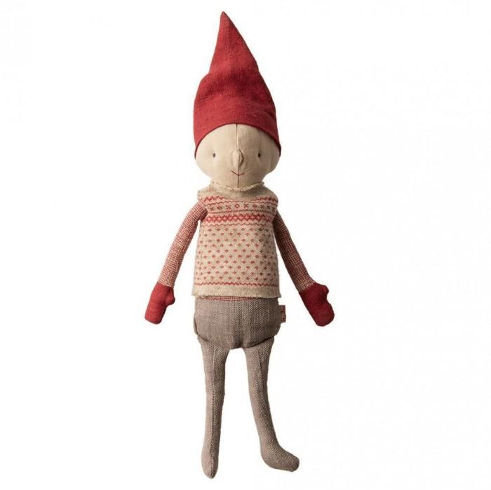 Картинка для Мягкая игрушка Maileg Зимние друзья Гном Пикси мальчик