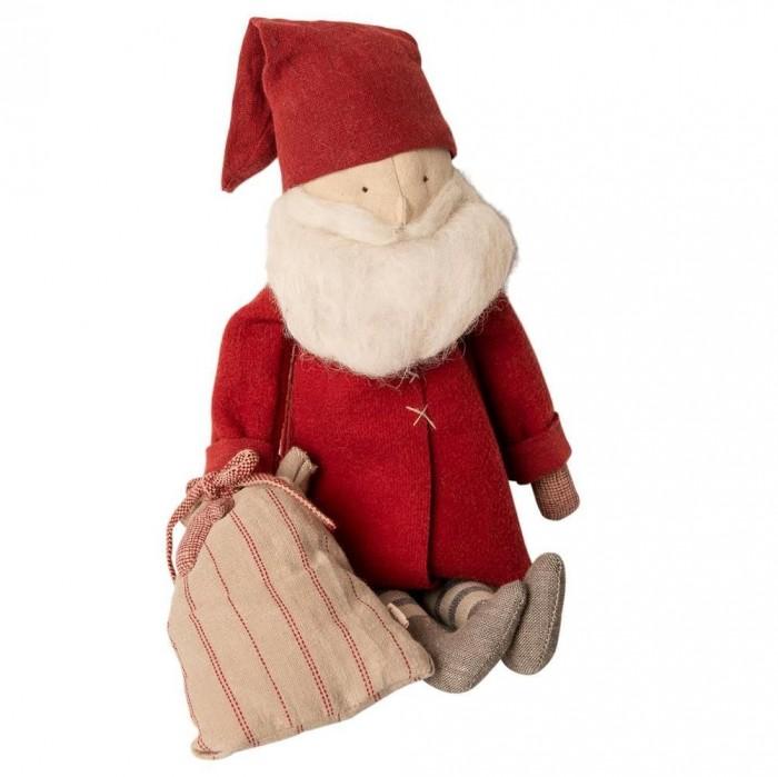 Картинка для Мягкая игрушка Maileg Зимние друзья Санта