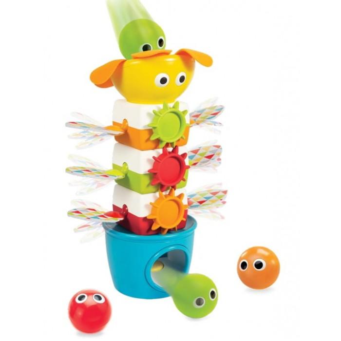Развивающие игрушки Yookidoo Пирамидка музыкальная с шариками