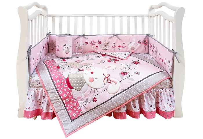 Комплект в кроватку Giovanni Shapito Bonny Bunny 120х60 от Акушерство