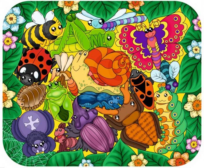 Пазлы Нескучные Игры Зоопазл Букашки (17 деталей) нескучные игры зоопазл нескучные игры букашки 17 деталей