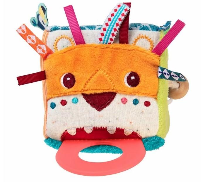 Купить Развивающие игрушки, Развивающая игрушка Lilliputiens Мини-куб Лев Джек