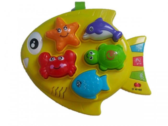 развивающие игрушки play smart умный утёнок Развивающие игрушки Play Smart Рыбка с морскими обитателями
