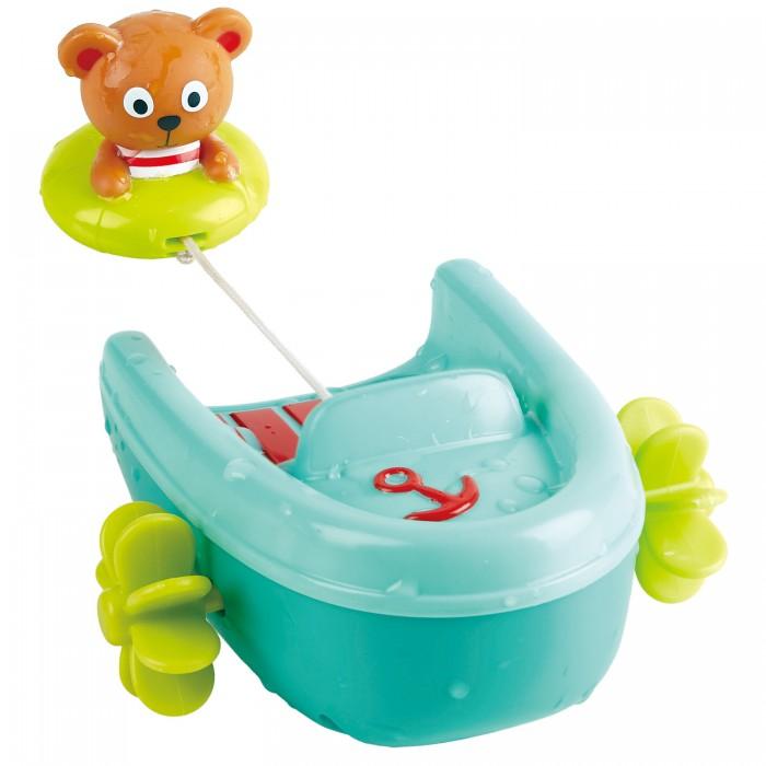 Купить Игрушки для ванны, Hape Игрушка для купания Мишка на тюбинге