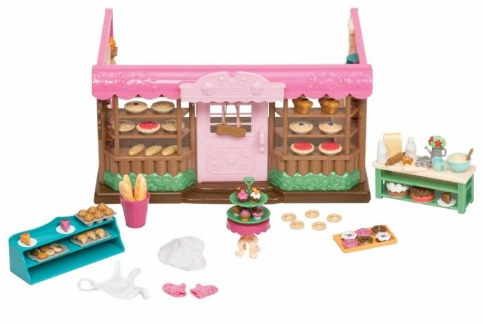 Картинка для Li'l Woodzeez Набор Пекарня с аксессуарам