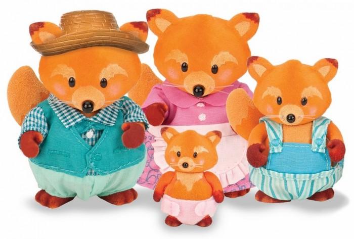Фото - Игровые фигурки Lil Woodzeez Набор Семья лисят игровые наборы lil woodzeez набор игровой семья коал