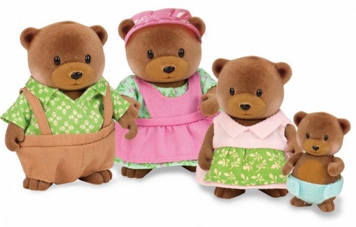 Фото - Игровые фигурки Lil Woodzeez Набор Семья медвежат игровые наборы lil woodzeez набор игровой семья коал