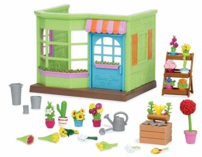 Фото - Игровые наборы Lil Woodzeez Набор Цветочный магазин с аксессуарами игровые наборы lil woodzeez набор игровой семья коал