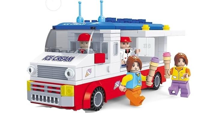 Картинка для Конструкторы Ausini Город Фургон с мороженым (259 деталей)