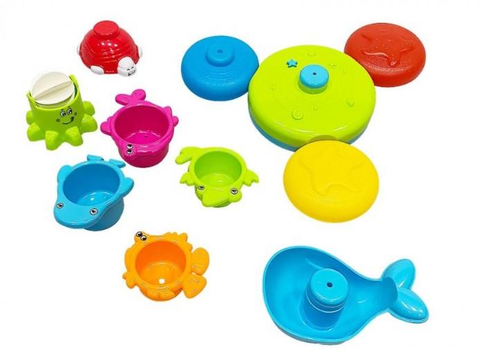 Купить Игрушки для ванны, Everflo Игровой набор для воды Water animal